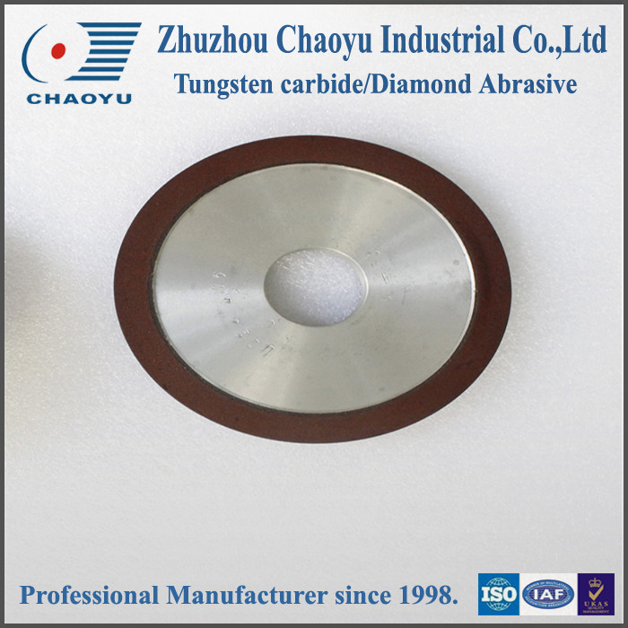 14A1 Plain Arc stronger Resin Bond Diamond Grinding Wheel for tungsten <strong>carbide</strong> sharpening