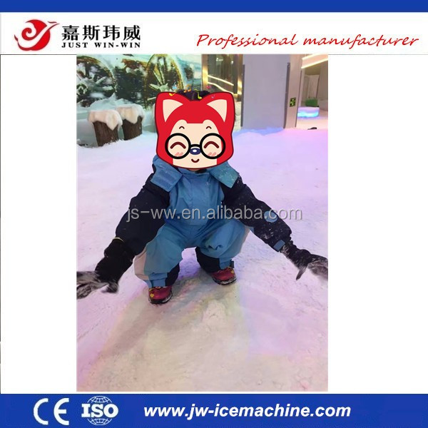 Indoor plsyground ues snow machine, snow machine real snow making machine