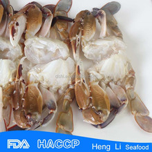 HL003 Low-Fat frozen soft shell crab for sale