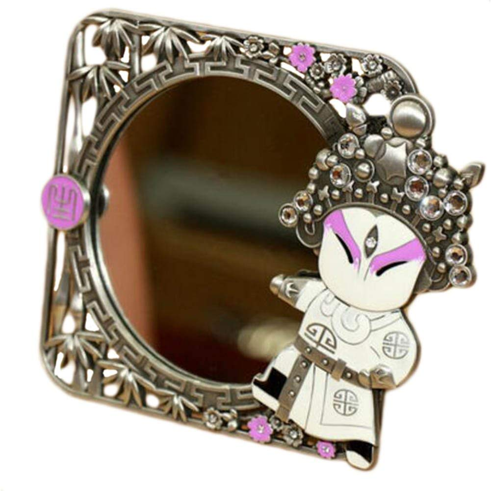 Chinese Style Beijing Opera Make Up Cosmetic Mirror Creative Ornament Mirror-A03