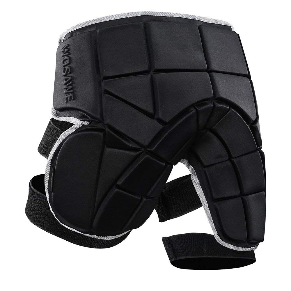Lixada EVA Paded Hip Butt Protection Short Pants Adjustable Impact Shorts Protective Gear Guard Pad Cycling Skating Skiing