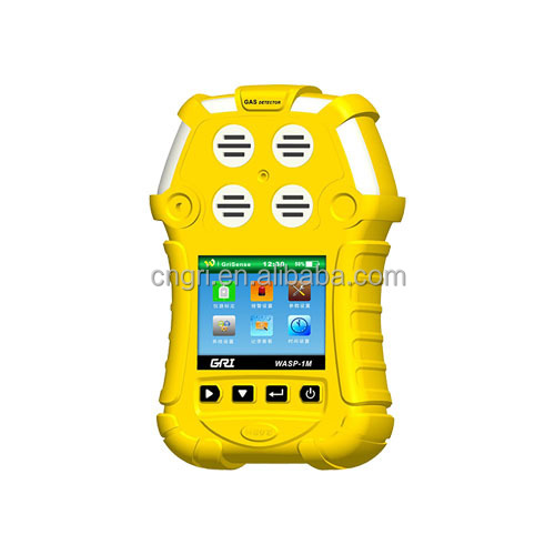4 in 1 portable multi gas detector(CO,H2S,LEL and O2)