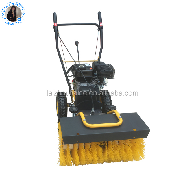 Power Broom Sweeper/3 in 1 Snow Sweeper,Manual Sweeper,Road Sweeper Cleaning