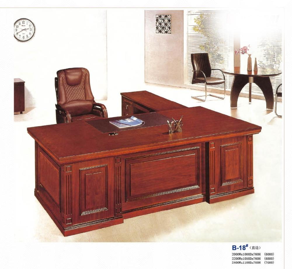 High quality mdf wood modern executive desk high end for High quality modern furniture