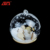 New personalized led light glass christmas ornaments ball