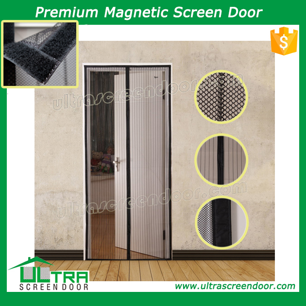 Magnetic Accordion Screen Door Keep Pets And Kids In, Flies Out