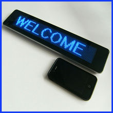 wholesale alibaba mini led display/led message board/programmable scrolling led