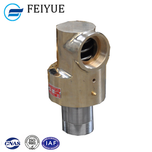 Thread connection pipe fittings rotating swivel mechanism water pipe joints