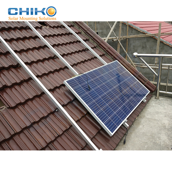 China Supplier Solar Panel Mounting Rails And Aluminum Solar Rail For Solar  Pv Panels Mounting Brackets - Buy Solar Pv Aluminium Mounting Rail Pv
