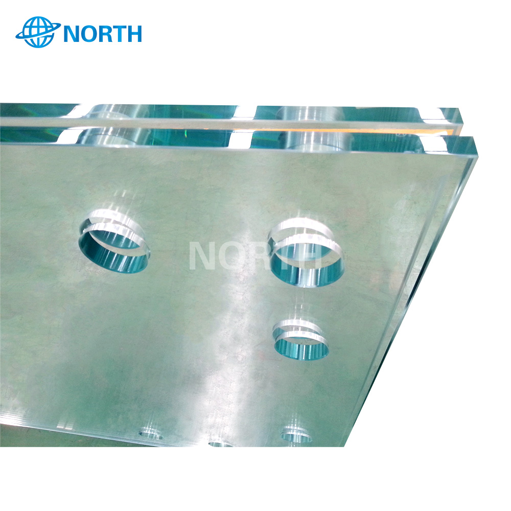 Beijing large glass sheets  wholesale glass 20mm domes stand  Factory