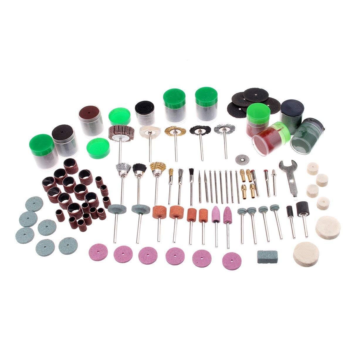 Letbo New 161pcs Mini Drill Multi Rotary Tool Accessories Set Grinding Polishing Kits for Dremel