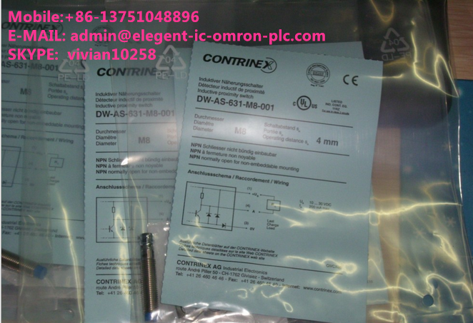 CONTRINEX DW-AS-623-M8-001 NEW