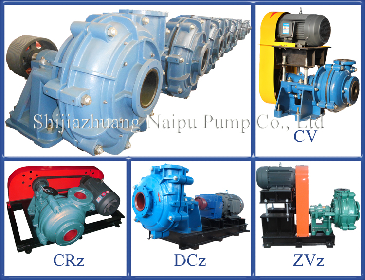2 X 1.5 B - NPAH CV Drive Slurry Transferring Overhung Pump for Flotation Machine