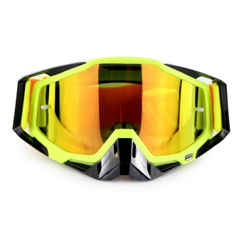 Motocross off road motorcycle goggle with tear off films and clear len Soman SM11