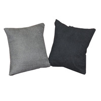 High quality cheap solid color cushion pillow cover