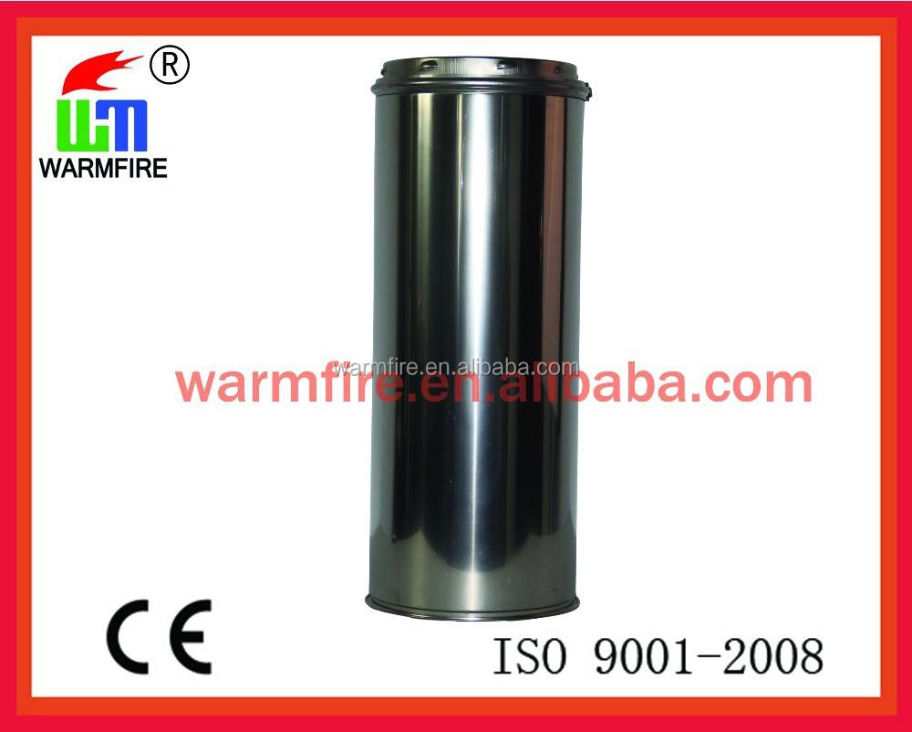 Ce stainess acero de doble pared con aislamiento tubo tubo - Tubo de acero inoxidable para chimeneas ...