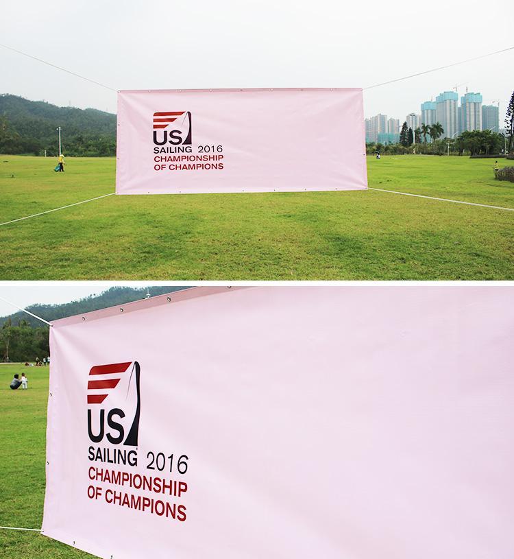 Wholesale Custom Images Design 550 Vinyl Fence Advertising PVC Flex Banner