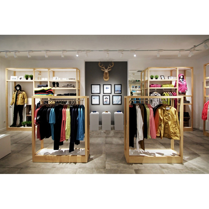 High-grade Wholesale Luxury Unique Style Clothes Product Display Ideas
