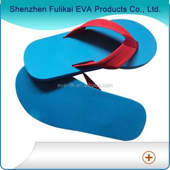 33432200b0a682 Blank Sole Fabric Upper Strap Comfortable Eco Friendly Flip Flops ...