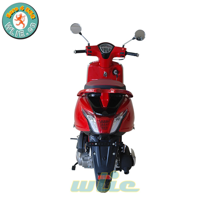 अच्छी गुणवत्ता चीनी मिनी गैस स्कूटर निर्माता एक सीट स्कूटर लक्जरी वाहन लिका (यूरो 4)