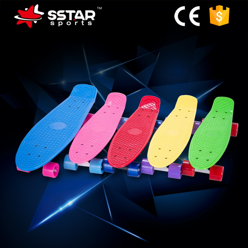 factory supplier 4 PU wheel sports longboards skateboards for sale