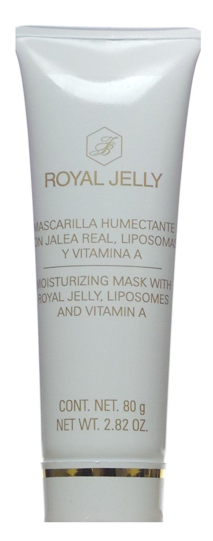 Royal Jelly Mascarilla Humectante con Jalea Real, Liposomas y Vitamina A Moisturizing Mask with Royal Jelly, Liposomes and Vitamin A 80 g / 2.82 oz