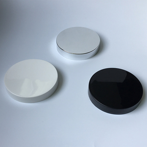 China supplier custom color PP screw cover 89mm plastic lid plastic cap for jars