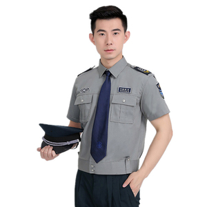custom new summer short sleeve shirts duty uniforms workwear
