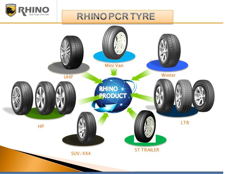 RHINO Various Of Oem Quality Car tyres