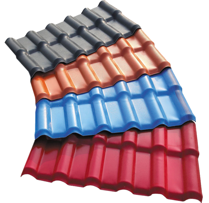 Synthetic Resin Roof Tile Asa Pvc Roofing Sheet Upvc