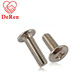 All size high quality flat head screw/grub screw