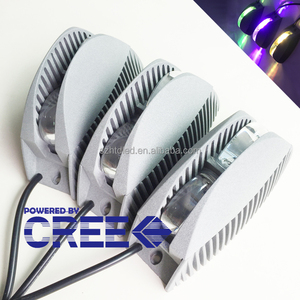 Aluminum Alloy 8w cri single color led trick window light ip65 funky wall light