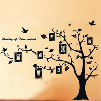 Black Photo Frame Tree Wall Stickers Family Forever Memory Tree Wall Sticker Decor Decorative Adesivo De Parede Decor