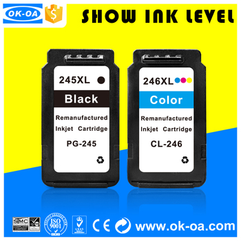 compatible ink cartridge for canon printers pixma ip2820 PG245 CL246 refill printer ink cartridge