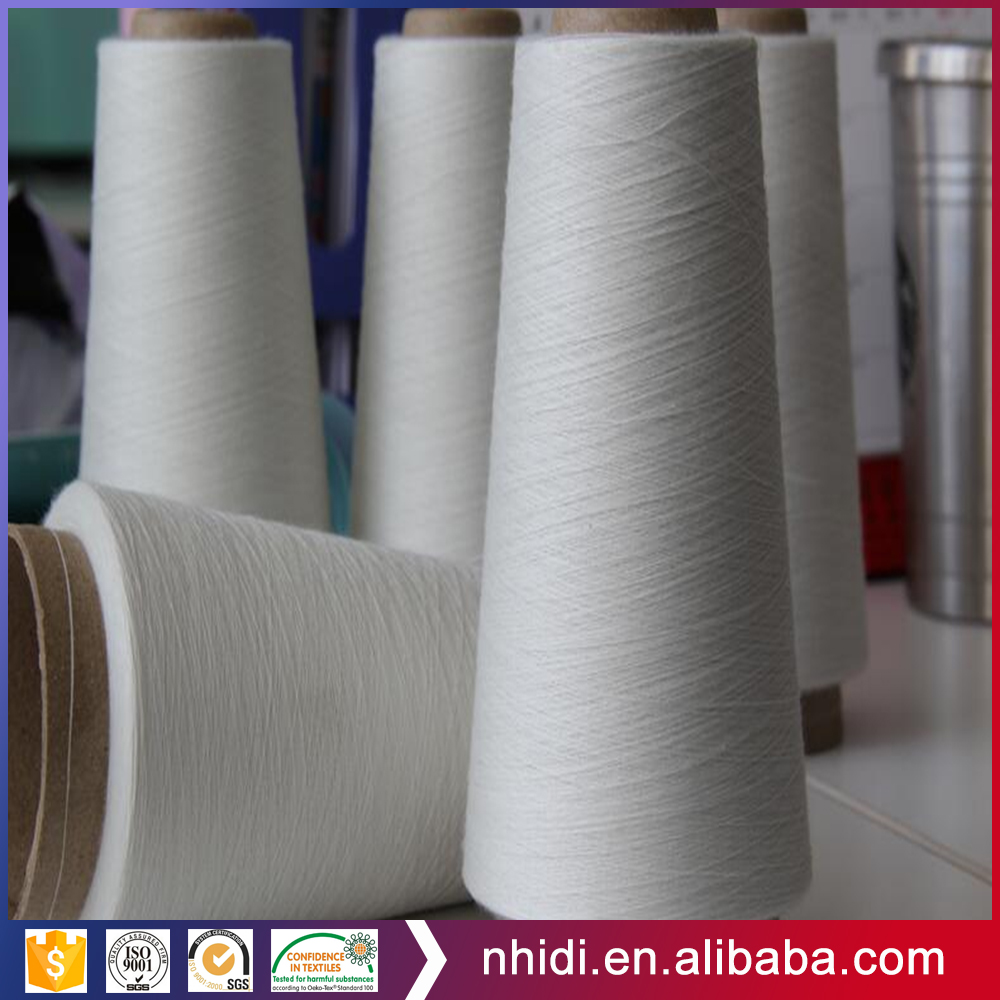 autocone knitting 40S/1 100 polyester virgin yarn on paper tube