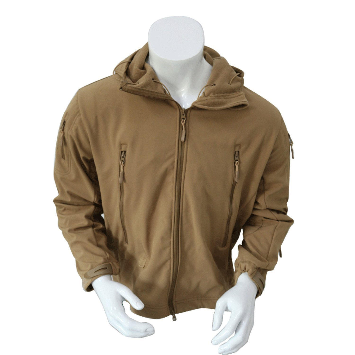 Other Camping & Hiking Sporting Goods Us Special Ops Softshell Army Tactical Soft Shell Jacket Coyote Brown Xxl A Great Variety Of Models