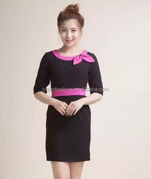 Salon spa uniforms polycotton custom spa uniform buy for Spa uniform alibaba