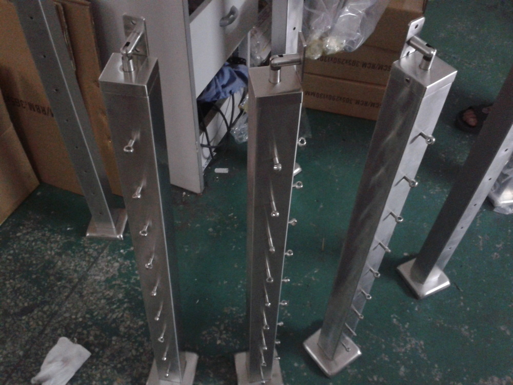 Stainless Steel Staircase Handrails Design Cable Railing System Wire ...
