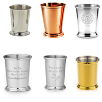 Cheap Solid Copper Mint Julep Cup