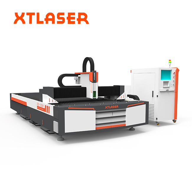 1500w motorcycle Accessories 4mm stainless steel pipe and plate fiber laser cutting for sale