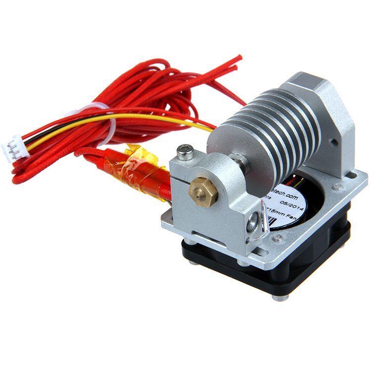 Geeetech All Metal short-distance j-head V2.0 0.3mm nozzle 1.75mm filament with cable, with cooling fan for 3D printer