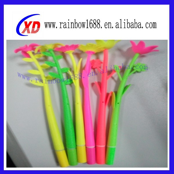 New Arrival Multicolor Silicone Bracelet Touch Ball Pen