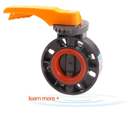YDKL manual water ptfe small butterfly valve