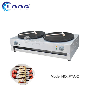 Commercial Electric Crepe Cake Machine Restaurant Double Crepe Maker Wholesale Price