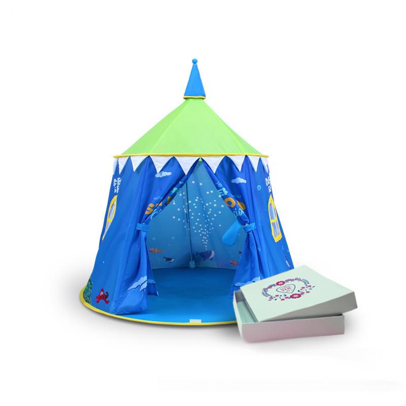 grandi bambini giocano tenda pop up principessa esterna