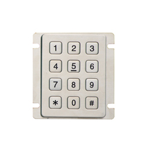 teclado matricial 4x3 remote control cabinet lock stainless steel IP65 serial keypad