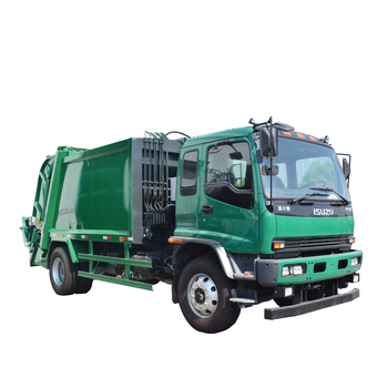 Japanese Brand  Small Dimensions Capacity of  Compactor Garbage Truck