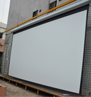 electric motorized projector screen wall projection screen