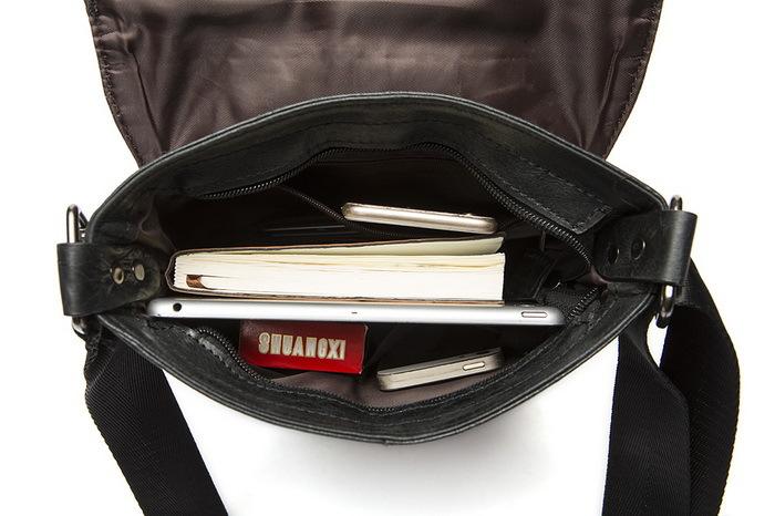 Разработка бренда первый слой воловья кожа кожа сумочка 100% натуральная кожа мужчины мешок лучший бизнес посланник реального кожа мешок
