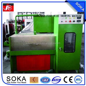 SOKA high quality advance brass wire drawing machinery
